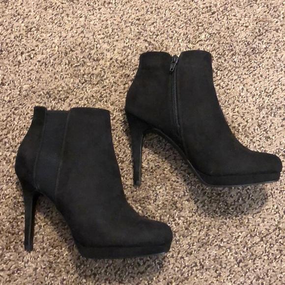 Shoes | Apt 9 Black Booties | Poshmark